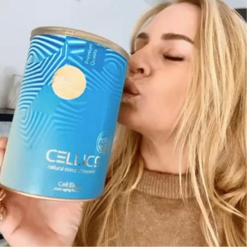 Cellics skin nutrition ervaring review Ellemieke Vermolen collageen poeder